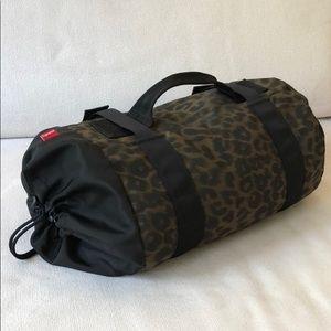 SUPREME Mini Women's Duffel Bag Leopard Print